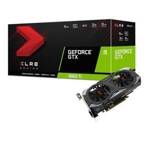 Carte graphique PNY GeForce GTX 1660 Ti XLR8 Gaming OC  - 6Go