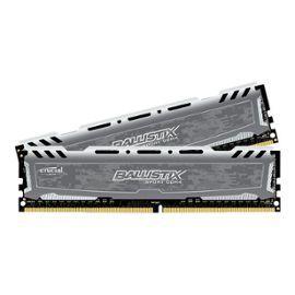 Kit Mémoire RAM Ballistix Sport LT - 32 Go (2 x 16 Go), DDR4, 2400 MHz, CL16