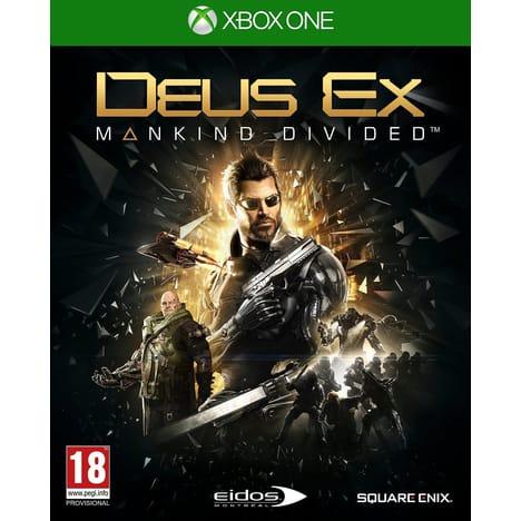 Jeu Deus Ex Mankind Divided sur Xbox One