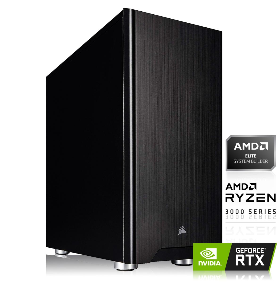 PC AMD Ryzen 7 3700X, 16Go RAM 3000mHz, RTX 2080 SUPER, SSD 240 Go + HDD 1To, Alim Corsair 650W