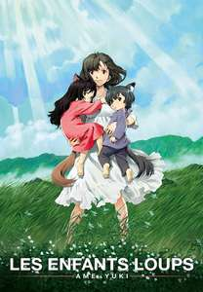 Film d'animation Les enfants loups, Ame & Yuki à l'achat en HD (Dématérialisé - VF)