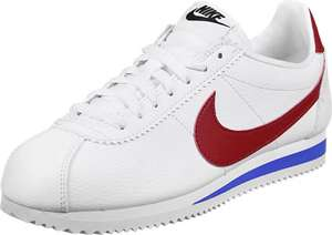 Chaussures Nike Classic Cortez Leather W - Blanches, Tailles au choix (Stylefile.fr)