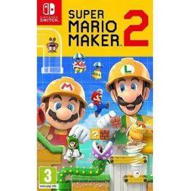 Super Mario Maker 2 sur Nintendo Switch (+ 2.25€ offerts en SuperPoints)