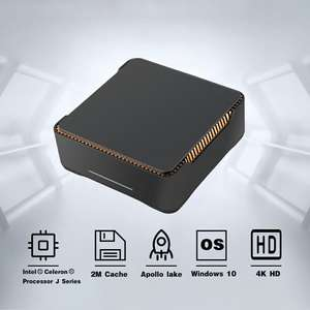 Mini PC AK3V J3455 - 6 Go de Ram, 64 Go, Intel HD 500