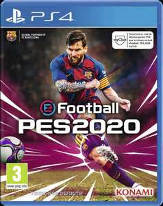 eFootball PES 2020 sur PS4 ou Xbox One
