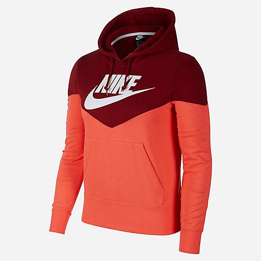 Sweat-shirt à Capuche Nike Sportswear Heritage pour Femmes - Tailles au choix