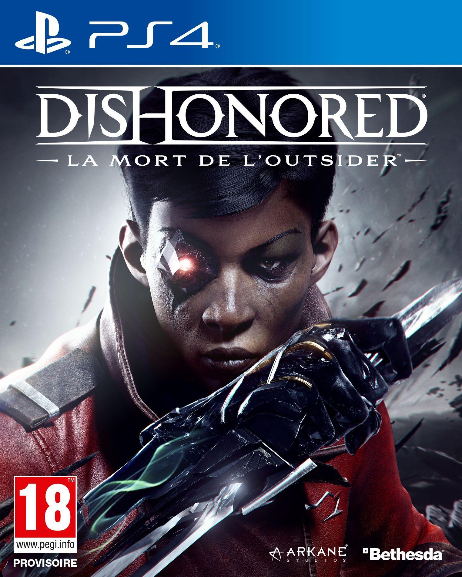 Dishonored : La Mort de l'Outsider sur PS4