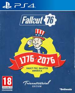 Fallout 76 Edition Tricentennial sur PS4 ou Xbox One