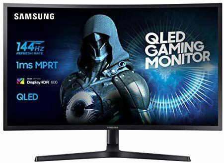 """Écran PC 27"""" Samsung C27HG70 - QLED, WQHD, 144Hz, 1ms"""