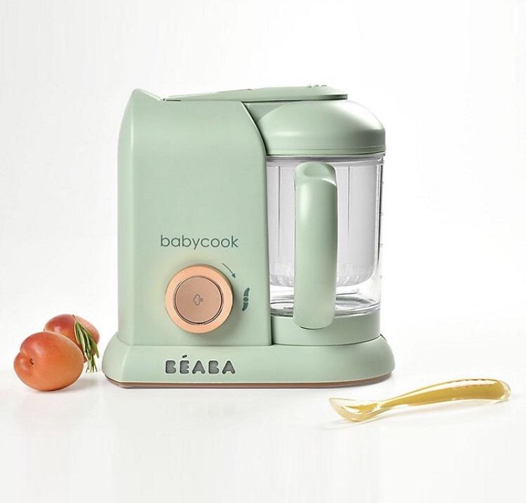 Robot-cuiseur béaba Babycook Solo Matcha - vert - 24 x 18 x 24 cm