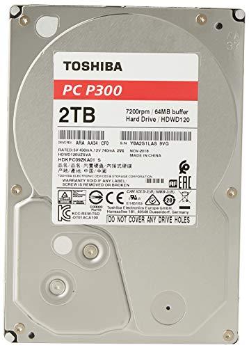 "Disque dur Interne 3.5"" Toshiba P300  - 2 To, 7200 Tpm"
