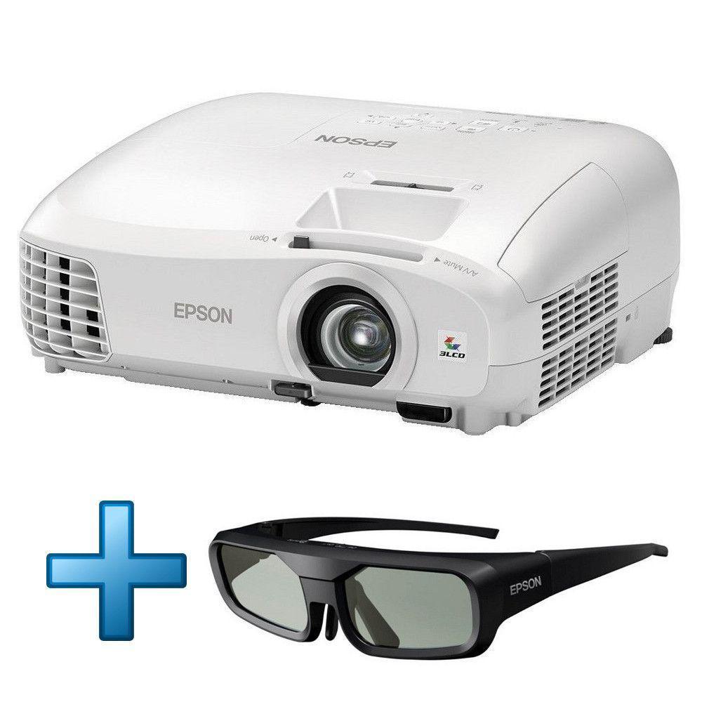 Vidéoprojecteur Epson EH-TW5210 Full HD 3D + Lunettes 3D active Epson V12H548001