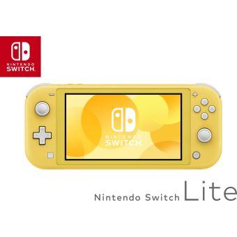 [Précommande] Console Nintendo Switch Lite - Jaune + 3 mois d'abonnement à Deezer