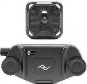 Support de fixation pour appareil photo Peak Design Capture Clip V3 - ARCA, avec plateau noir