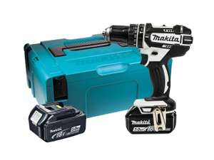 Perceuse Visseuse à percussion Makita 18 V Li-Ion DHP482RTWJ  - 2 batteries 5Ah (Frais de port inclus - ffx.co.uk)