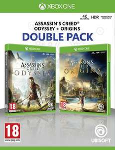 Pack Assassin's Creed Double Pack - Origins + Odyssey sur Xbox One ou PS4