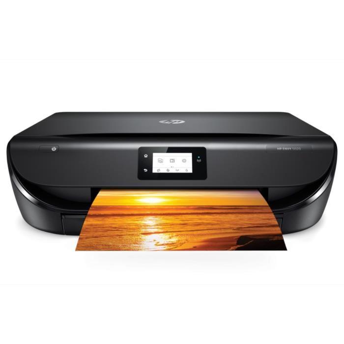 Imprimante  Multifonction à jet d'encre HP Envy 5020 - WiFi (Via ODR 20€)