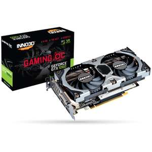 Carte graphique INNO3D GeForce GTX 1060 Gaming OC, 6 Go + Shadow of the Tomb Raider offert (179.95€ avec le code FANGIRL)