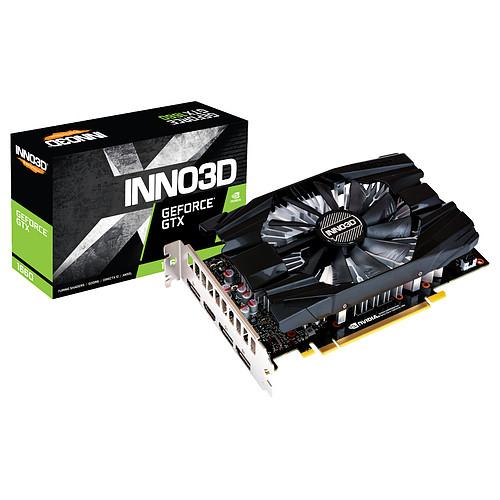 Carte Graphique INNO3D GeForce GTX 1660 COMPACT 6Go (213,95€ avec le code FANGIRL)