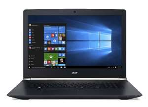 """PC Portable Gamer 17"""" Acer VN7-792G-76S9 (Core i7, 8 Go RAM, 1To HDD, GTX 960M)"""