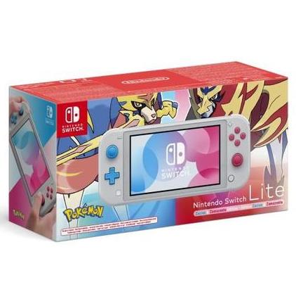 [Précommande] Console Nintendo Switch Lite Edition Pokémon Zacian & Zamazenta