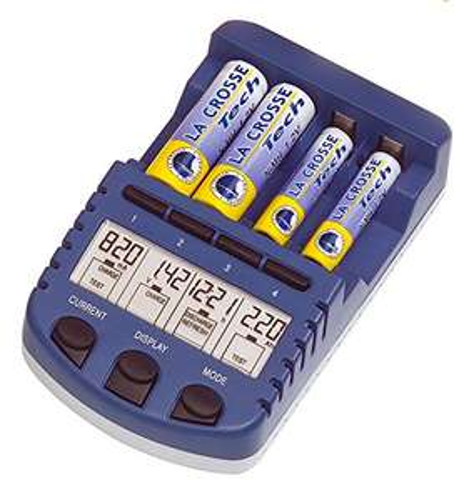 Chargeur de piles rechargeables AA, AAA La CrosseTechnology RS1000 (Vendeur tiers)