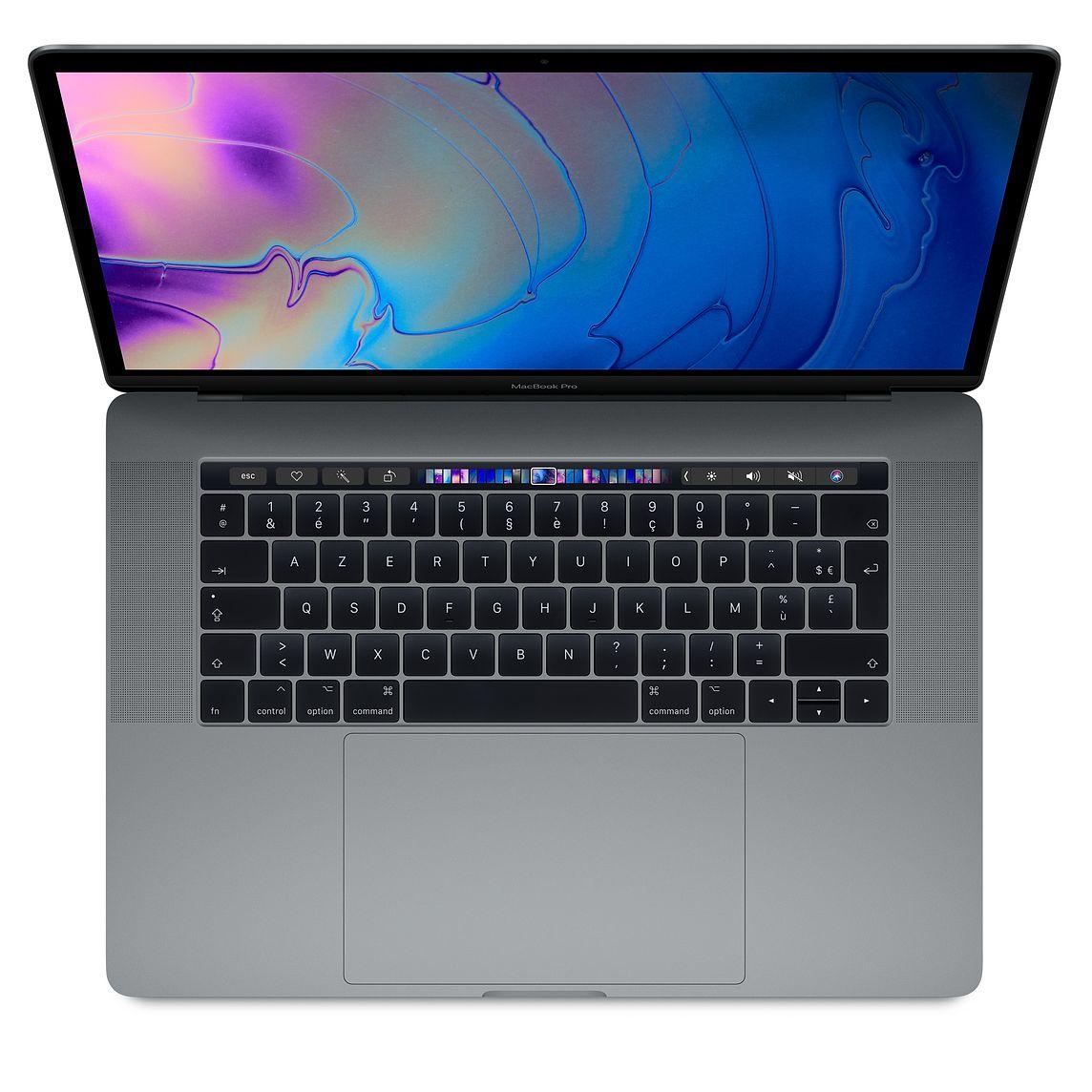 """PC portable 15.4"""" Apple MacBook Pro (Retina, i7, 16 Go de RAM, 512 Go en SSD, avec capteur Touch ID) - reconditionné"""