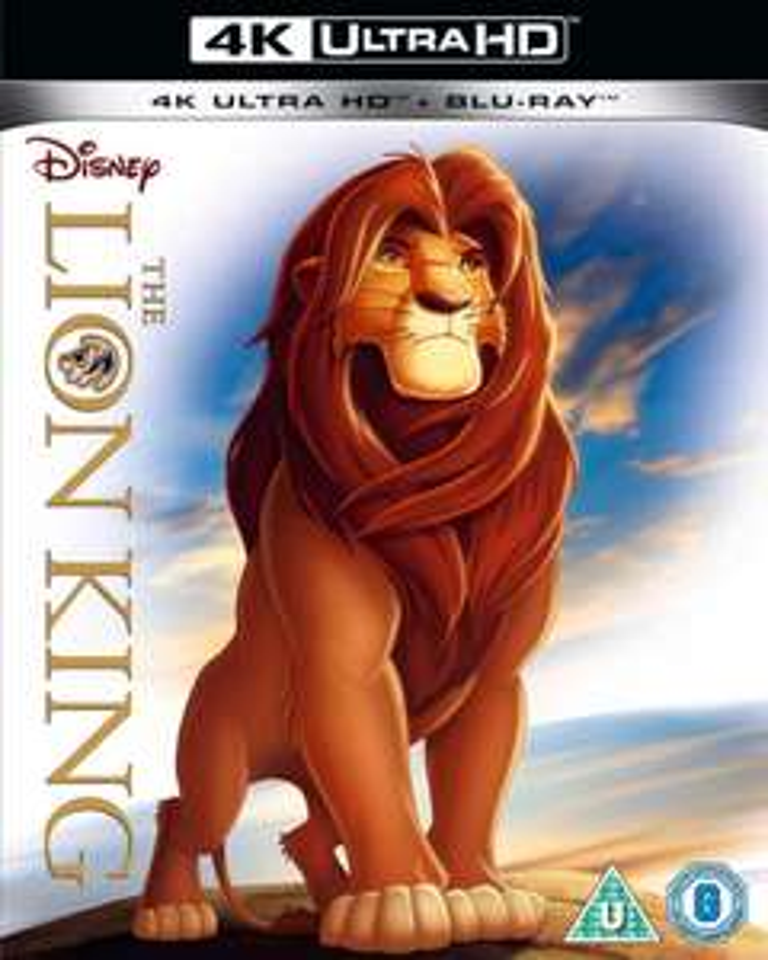Blu-ray 4K UHD Le Roi Lion (+ Blu-ray)