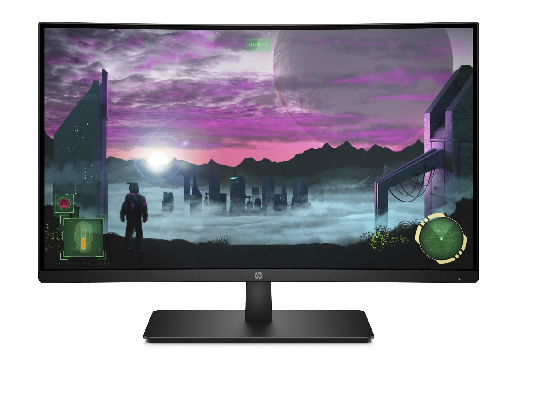 "Écran PC incurvé 27"" HP 27x - full HD, LED VA, 144 Hz, 5 ms, FreeSync (via ODR de 50€)"