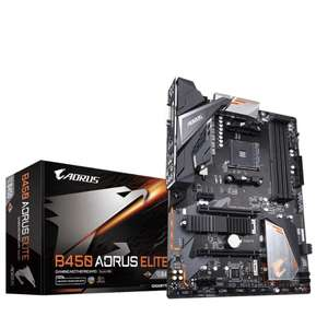 Carte-mère Gigabyte B450 Aorus Elite  B450 - Socket AM4 (Via Coupon)