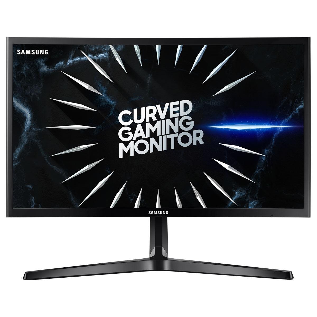 "Ecran PC LED 24"" Incurvé Samsung C24RG50FQUXEN - FreeSync, 144Hz- Dalle VA, 4ms"