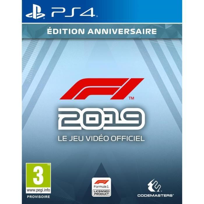 F1 2019 Edition anniversaire sur PS4