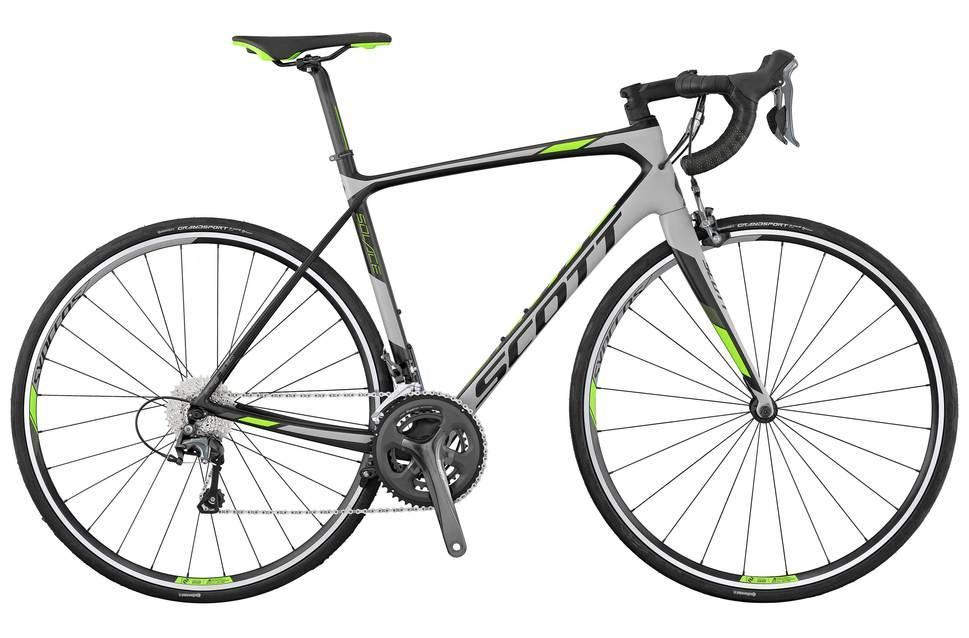 Vélo Route Endurance Scott Solace 30 (Carbon/Tiagra 4700) - 2017 (47, 49, 52cm)