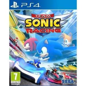 Team Sonic Racing sur PS4, Xbox One ou Nintendo Switch