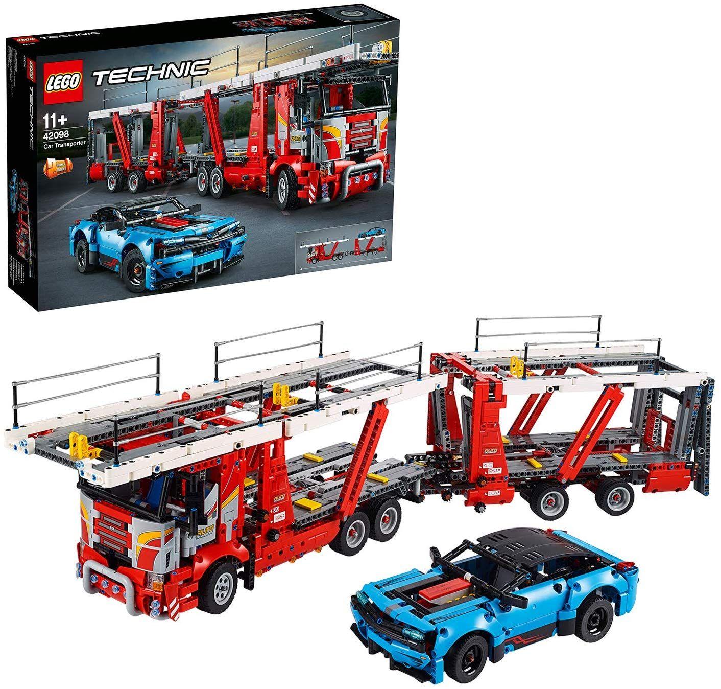 LEGO Technic - Le transporteur de voitures 42098
