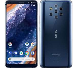 "Smartphone 5.99"" Nokia 9 Pureview - WQHD+, SnapDragon 845, 6 Go de RAM, 128 Go (Frontaliers Suisse) - QoQa.ch"