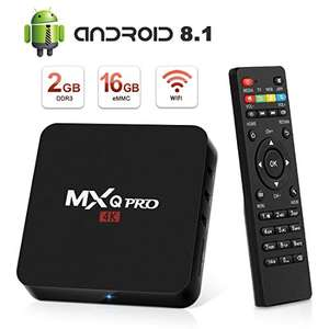Box TV Superpow MXQ Pro - Android 8.1, 4K UHD, H.265 (Vendeur tiers)