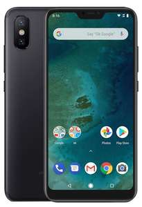 "Smartphone 5.84"" Xiaomi Mi A2 Lite Global Version - Android One, full HD+, SnapDragon 625, 4 Go de RAM, 64 Go, Noir ou Or (entrepôt ES)"