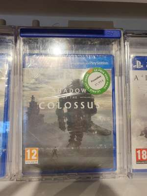 Shadow of the Colossus sur PS4 - Biganos (33)