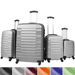 Sets 4 valises trolley Noir
