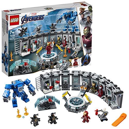 Jeu de Construction Lego Marvel Super Heroes 76125 - La Salle des Armures d'Iron Man