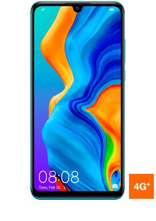 "Smartphone 6.15"" Huawei P30 Lite - 128 Go, Bleu"