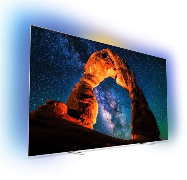 """TV OLED 65"""" Philips 65OLED803 - 4K UHD, Amblight, Smart TV (+350€ en Bon d'achat + 89,50€ sur la Carte Confo+)"""