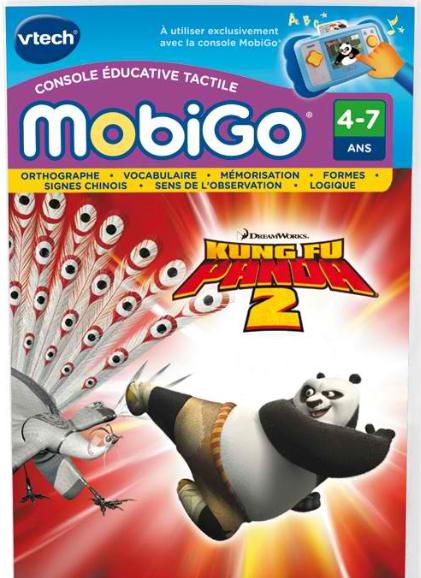 Kung Fu Panda 2 Mobigo offert pour l'achat d'un jeu