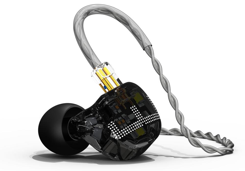 Écouteurs intra-auriculaires EarSonics ES3 (2019) - noir