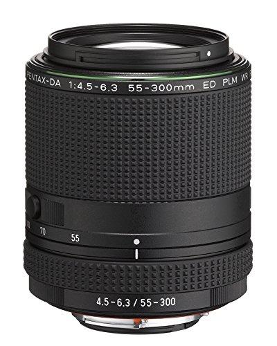 Objectif photo superzoom Pentax smc DA 55-300mm f4.5-6.3 ED PLM WR RE