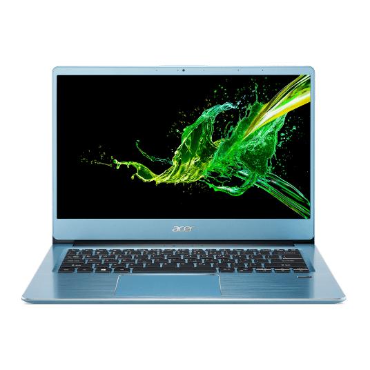 "PC Portable 14"" Acer Swift 3 SF314-41 bleu - FHD, Ryzen 5 3500U, RAM 8Go, SSD 512 Go, Vega 8"