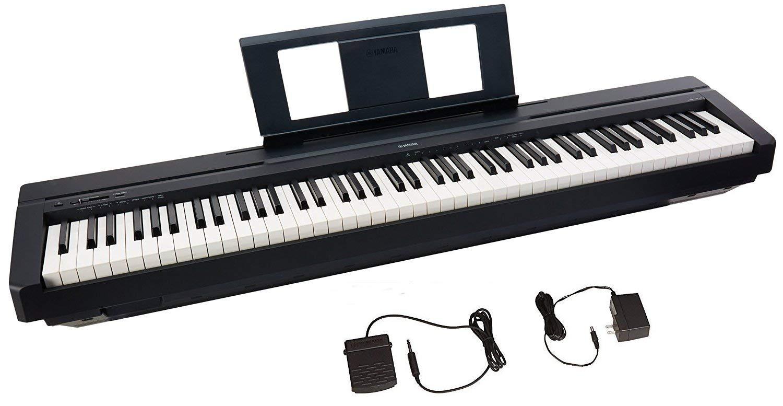 Piano Numérique Yamaha P-45 -  88 Touches & 64 Notes de Polyphonie