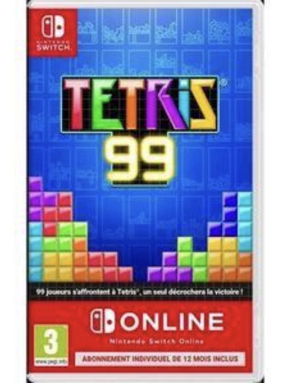 [Précommande] Tetris 99 sur Nintendo Switch + Abonnement de 12 Mois Online