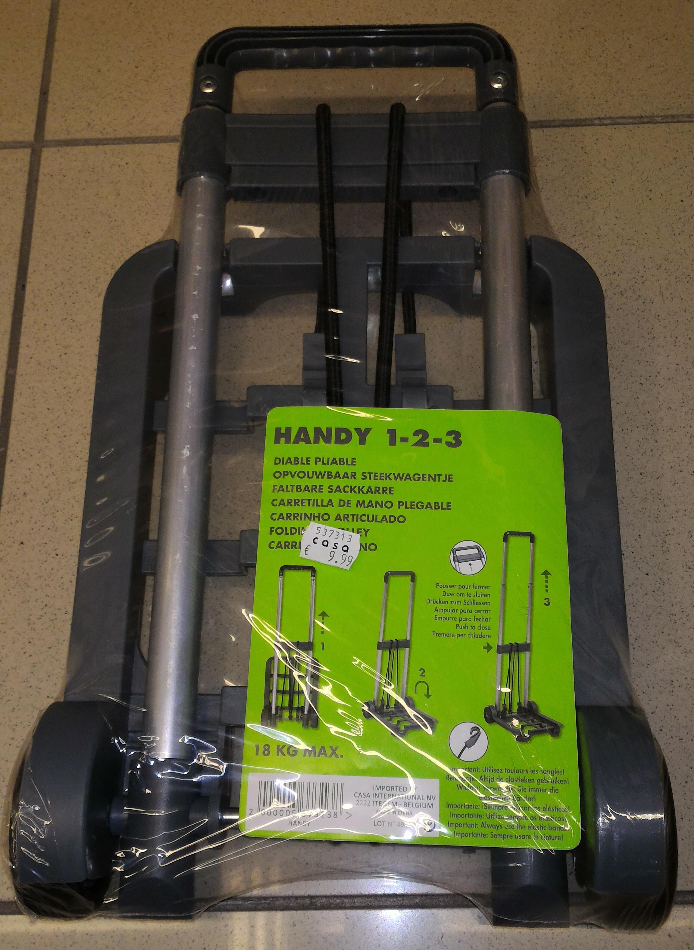Diable Pliable Handy 1-2-3 - 18Kg max